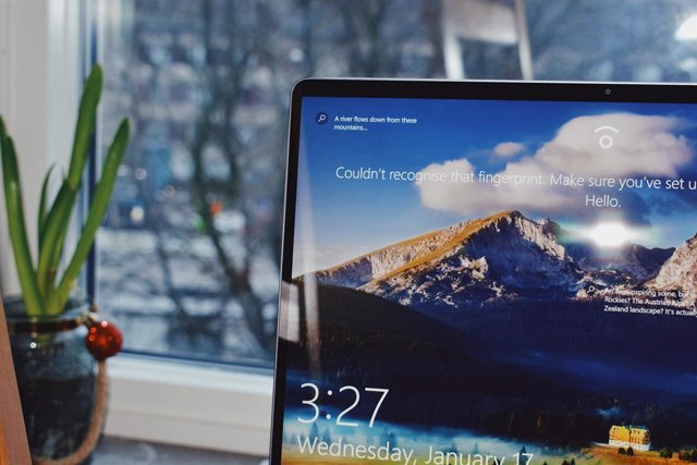 Ordenador con Windows 10.