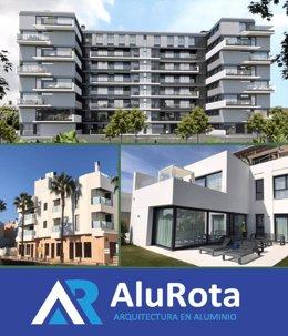 ALUMINIOS ROTA, Arquitectura en Aluminio.