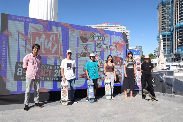 El Ayuntamiento apuesta por Madrid Urban Sports para acercar las corrientes urbanas a los más jóvenes.