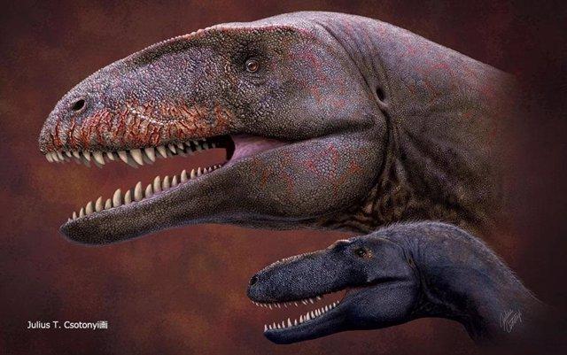 Aspecto de Ulughbegsaurus uzbekistanensis