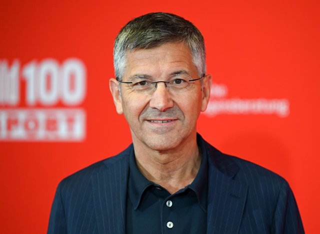 Archivo - FILED - 23 September 2020, Hessen, Frankfurt_Main: Herbert Hainer, President of FC Bayern Munich, attends the BILD100 event at Deutsche Bank Park Stadium. Hainer has suggested the reportedly massive transfer fee the club paid to sign RB Leipzig