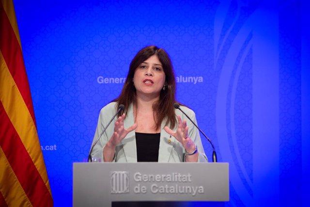 Archivo - Arxiu - La consellera de Recerca i Universitats de la Generalitat, Gemma Geis