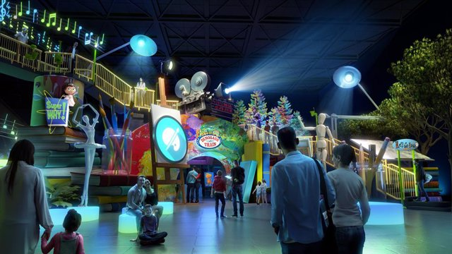 Curiosity Playground venues will feature iconic children's television preschool properties in fun, interactive environments that seamlessly integrate media with hands-on exploration for the whole family.