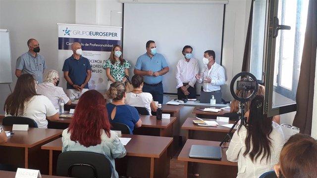 Inauguración del curso de Formación Profesional para el Empleo.
