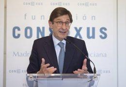 El presidente de CaixaBank, José Ignacio Goirigolz