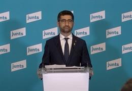 El vicepresident i conseller de Polítiques Digitals i Territori de la Generalitat, Jordi Puigneró, aquest dimecres