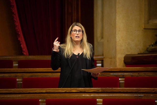 Archivo - La vicepresidenta de Junts, Elsa Artadi, en una imagen de archivo.