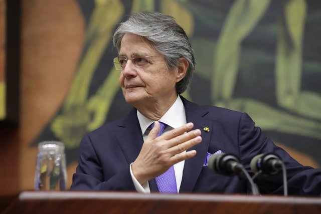 El presidente de Ecuador, Guillermo Lasso