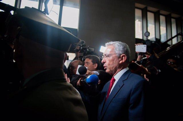 Archivo - El expresidente de Colombia Álvaro Uribe.