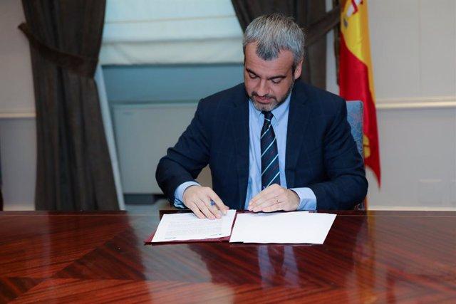 Archivo - Arxiu - El president i conseller delegat d'Aena, Maurici Lucena