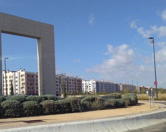 Viviendas en Getafe, en una imagen de archivo.