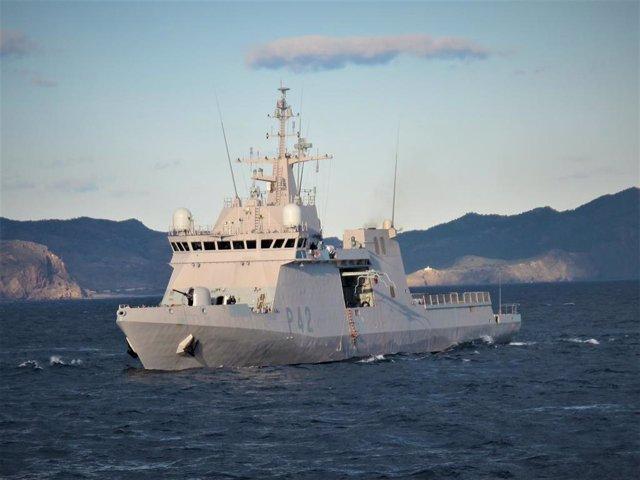 Archivo - Buque 'Rayo' de la Armada Española