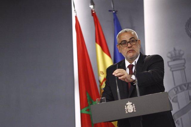 Archivo - El primer ministro de Marruecos, Abdelilah Benkiran, en Moncloa.
