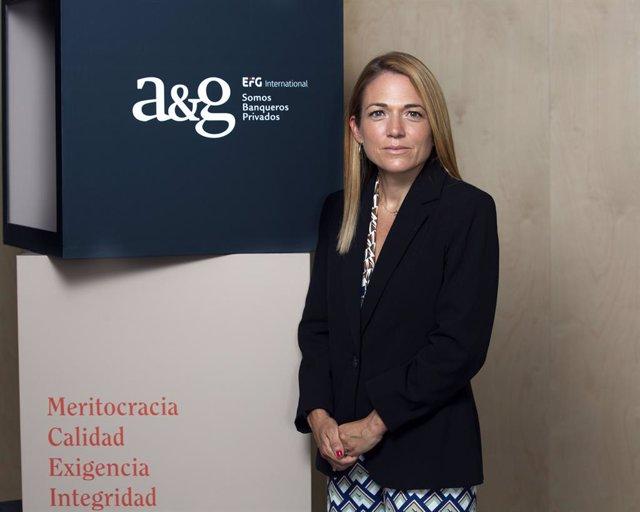 Archivo - Ainhoa González Más, nueva banquera de A&G Banca Privada.