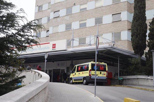 Archivo - Imagen de recurso del Hospital Gregorio Marañón.
