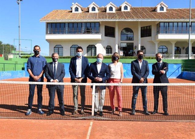 Presentación del Trofeo Internacional de Tenis 'Ciudad de Albacete'