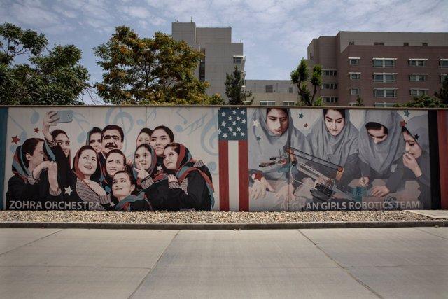 Archivo - Embajada de EEUU en Kabul