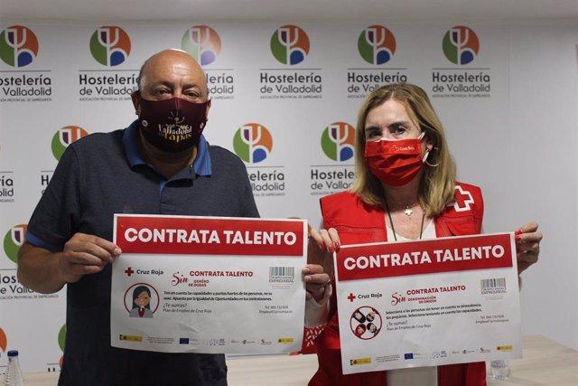 Presentación en Valladolid de la iniciativa 'Contrata talento sin...Û.