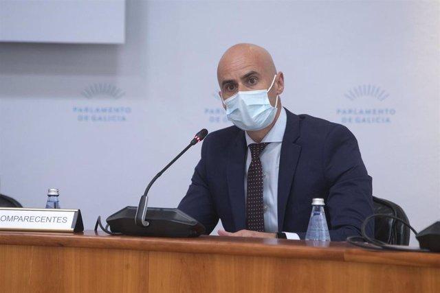 El gerente del Servizo Galego de Saúde (Sergas), José Flores Arias