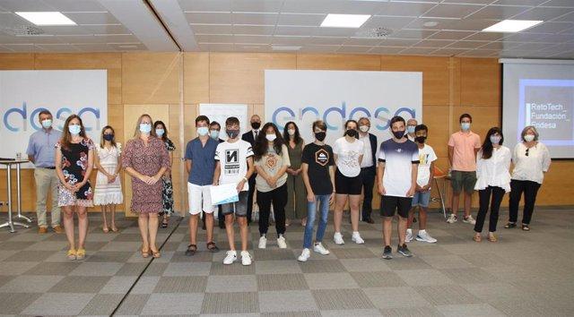 Archivo - Imagen de la entrega de galardones de la VI edición de premios RetoTech celebrada el pasado mes de julio en la sede de Endesa en Palma.