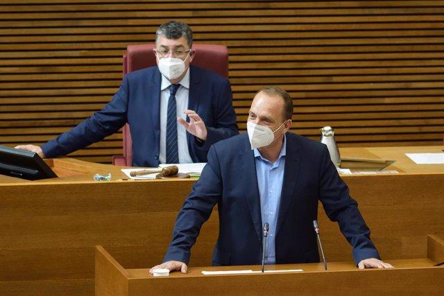 Archivo - El vicepresidente segundo de la Generalitat, Rubén Martínez Dalmau, en imagen de archivo