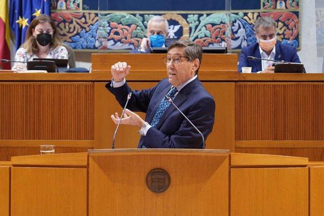 El vicepresidente del Gobierno de Aragón, Arturo Aliaga.
