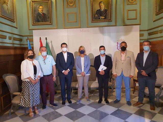 Recepción al Gobierno de Honduras en el Ayuntamiento de Motril