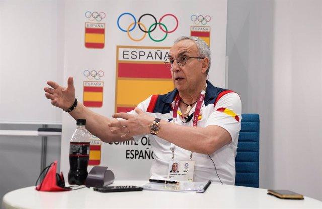 Archivo - El presidente del Comité Olímpico Español (COE), Alejandro Blanco