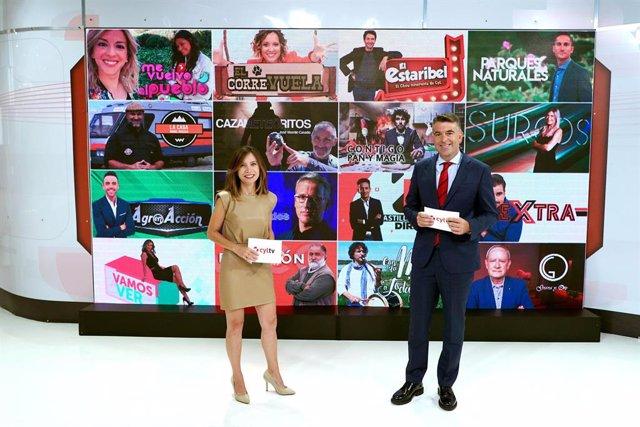 Presentación de la nueva temporada de CyLTV.