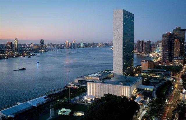 Archivo - Sede de la ONU en Nueva York