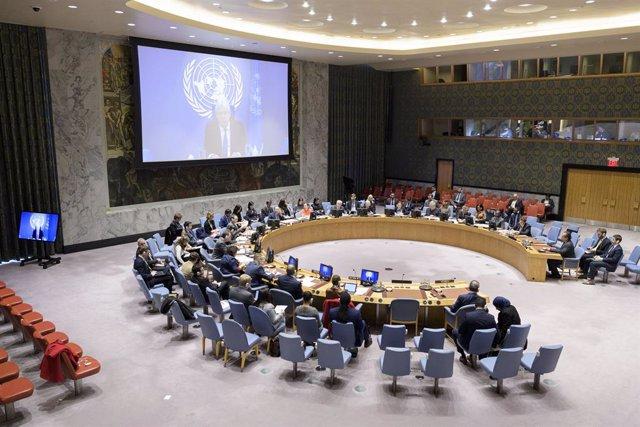 Archivo - Consejo de Seguridad de Naciones Unidas