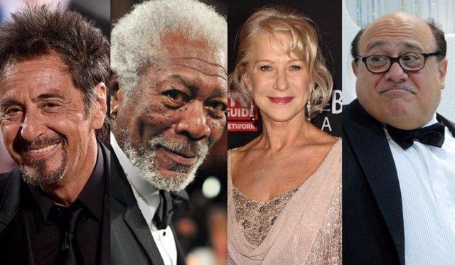 Morgan Freeman, Al Pacino, Helen Mirren y Danny DeVito, juntos en el thriller de jubilados 'Sniff'