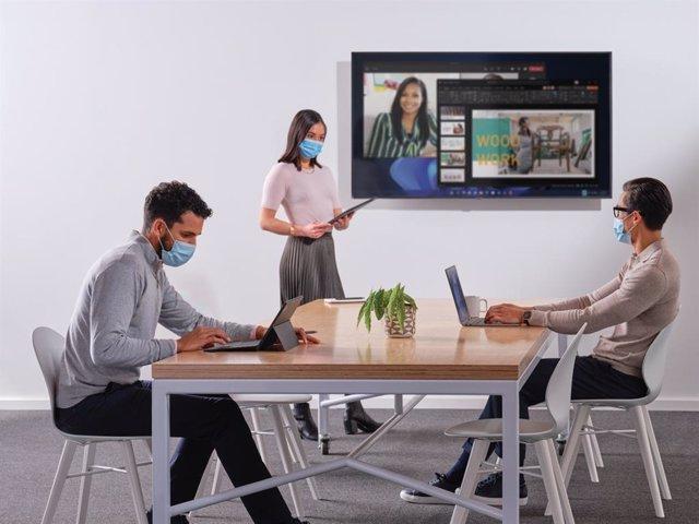 Nuevas funciones para las reuniones híbridas en Teams