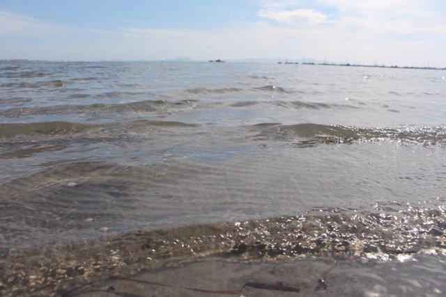 Archivo - Playa de Villananitos en el Mar Menor, en el municipio de San Pedro del Pinatar