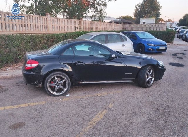 El coche robado a un hombre en Son Banya.