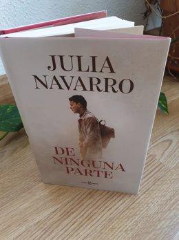 Libro de Julia Navarro 'De ninguna parte'