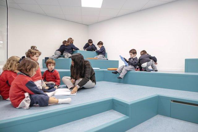 Diseño aula biblioteca Rosan Bosch