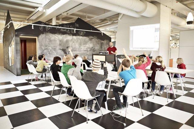 Diseño aula Rosan Bosch