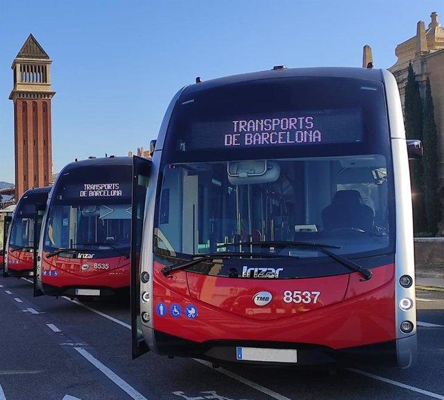 Archivo - Arxiu - Autobusos d'Irizar a Barcelona