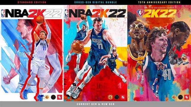 El videojuego NBA 2K22 ya está disponible en España.