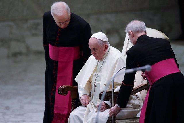 El Papa, en la última audiencia general