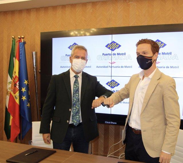 Motrilport y el Centro Reina Isabel de Granada acuerdan el impulso de acciones formativas en el sector portuario.