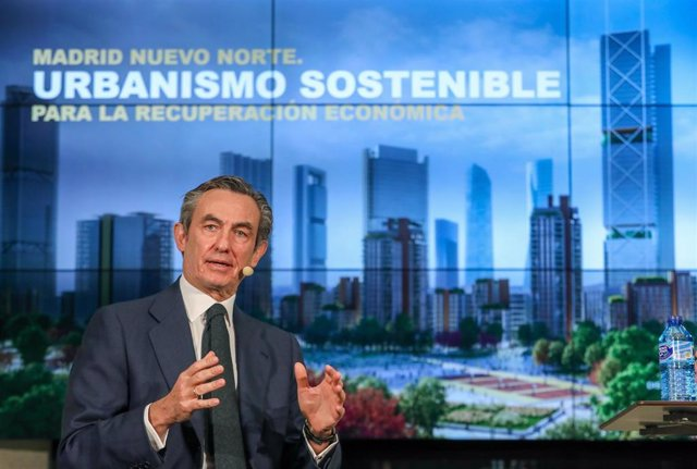 Archivo - El presidente de Distrito Castellana Norte (DCN), Álvaro Aresti.