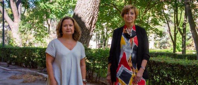 Pilar Gayoso, nueva subdirectora de Terapia Celular y Medicina Regenerativa, y Rosario Perona, nueva subdirectora de  Evaluación y Fomento de la Investigación.