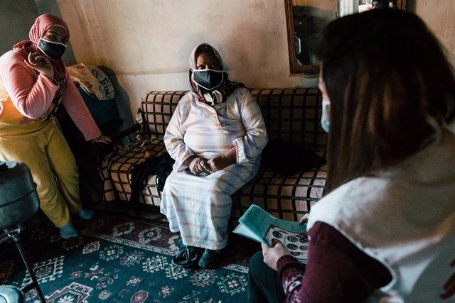 Archivo - Atención de MSF a pacientes en Hermel, en el valle de la Bekaa