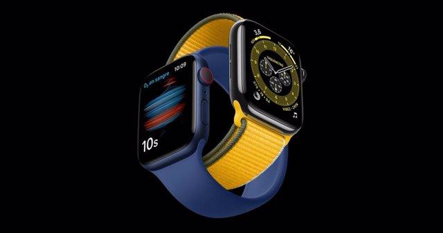 Archivo - Apple Watch Series 6