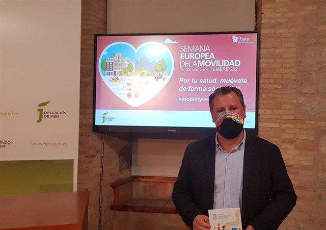 Bruno presenta las actividades de la Semana Europea de la Movilidad.