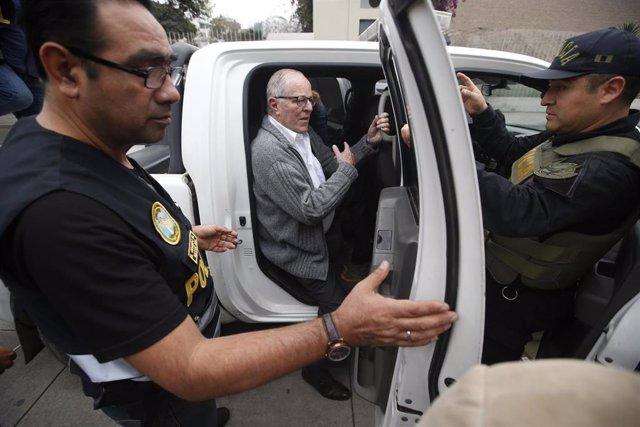 El expresidente de Perú, Pedro Pablo Kuczynski