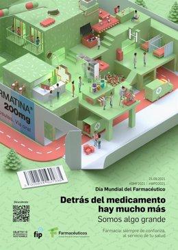 Póster del Día Mundial del Farmacéutico