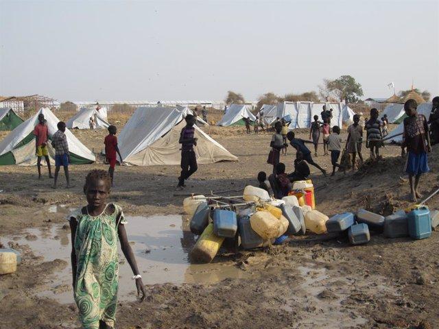Archivo - Refugiados sursudaneses en Etiopía